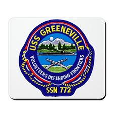 USS Greeneville SSN 772 Mousepad