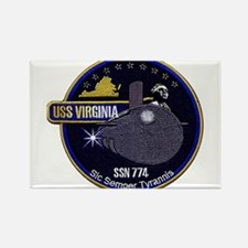 USS Virginia SSN 774 Rectangle Magnet