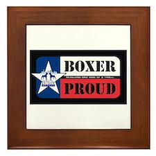 HBR Boxer Proud Framed Tile