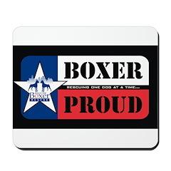 Boxer Proud Mousepad