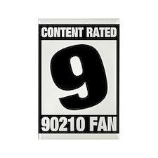 90210 Fan Rectangle Magnet