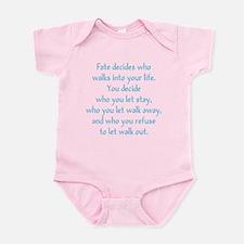 Fate Decides Infant Bodysuit