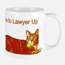Time to Lawyer Up Mug