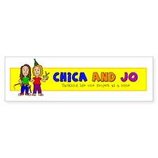 Chica and Jo Bumper Sticker
