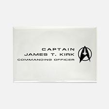 James T. Kirk Rectangle Magnet