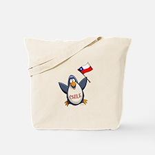 Chile Penguin Tote Bag