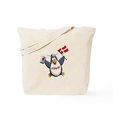 Denmark Penguin Tote Bag