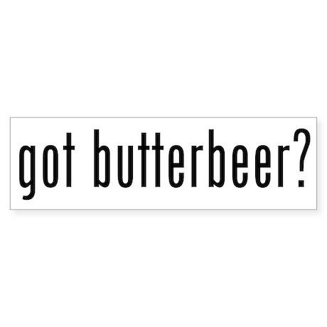 Got Butterbeer Sticker (Bumper 10 pk)