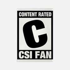 CSI Fan Rectangle Magnet