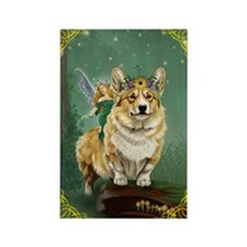 The Fairy Steed Rectangle Magnet