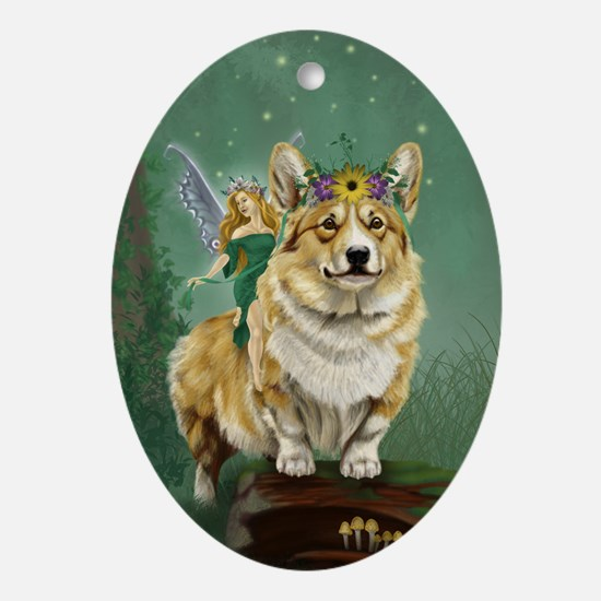 The Fairy Steed Ornament (Oval)