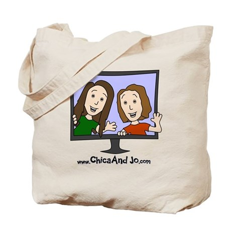 Chica and Jo Tote Bag