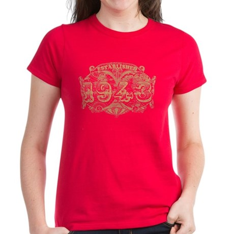 Established 1943 Women's Dark T-Shirt