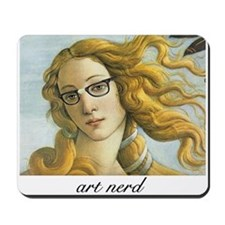A born art nerd. Mousepad