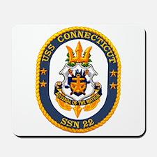 USS Connecticut SSN 22 Mousepad