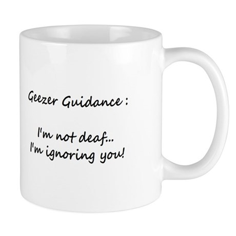 Small Geezer Guidance Mug #8