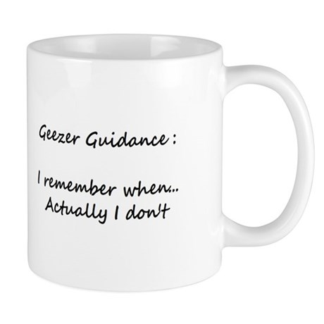Small Geezer Guidance Mug #7