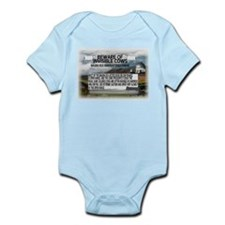 Invisible Cows Sign Infant Bodysuit