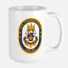 USS Connecticut SSN 22 Large Mug