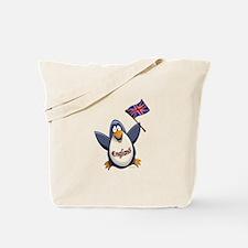 England Penguin Tote Bag