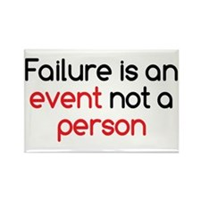 Failure is not a Person Rectangle Magnet
