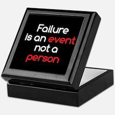 Failure is not a Person Keepsake Box