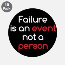 """Failure is not a Person 3.5"""" Button (10 pack)"""