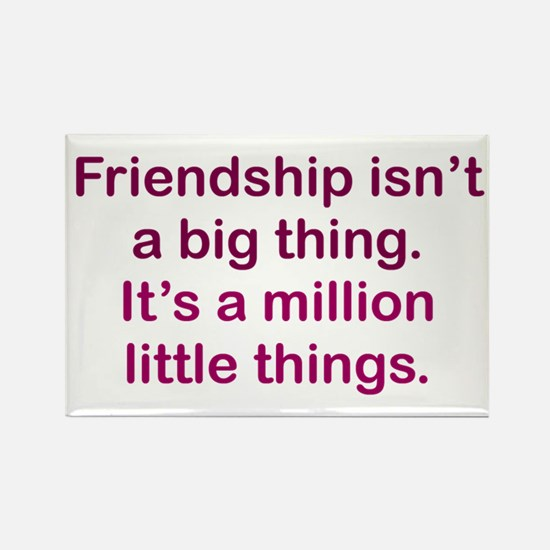 Friendship is Rectangle Magnet
