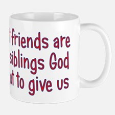 God and Best Friends Mug