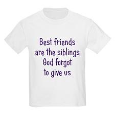 God and Best Friends T-Shirt