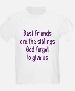 God and Best Friends T-Shirt