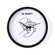 Al Chile! Wall Clock