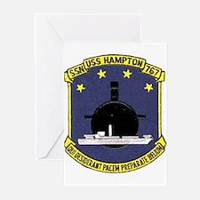 USS Hampton SSN 767 Greeting Cards (Pk of 10)
