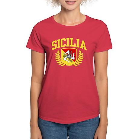 Sicilia Women's Dark T-Shirt