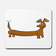Doxie - Dachshund Cartoon Mousepad