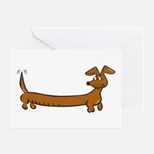 Doxie - Dachshund Cartoon Greeting Card