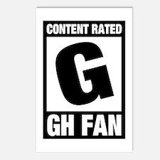 GH Fan Postcards (Package of 8)