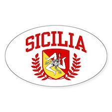 Sicilia Bumper Stickers