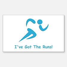 I've Got The Runs! Decal