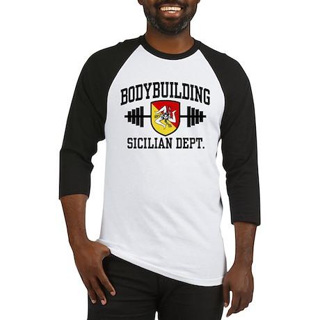 Sicilian Bodybuilding Baseball Jersey