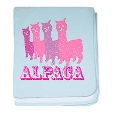 Unique Alpaca baby blanket