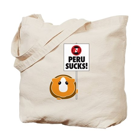 Peru Sucks Tote Bag