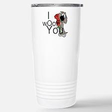 I woof you Travel Mug