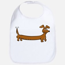 Doxie - Dachshund Cartoon Bib