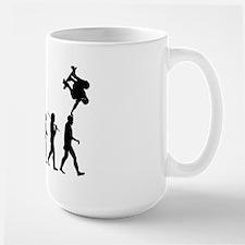 Skateboarding 2 Large Mug