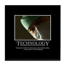 EMR Technology Tile Coaster