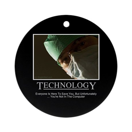 EMR Technology Ornament (Round)