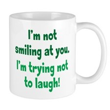 Trying Not to Laugh Mug