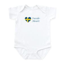 Swede-Heart Infant Bodysuit