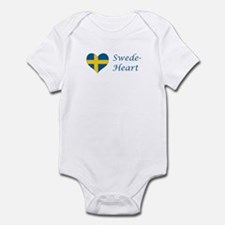 Swede-Heart Infant Bodysuit